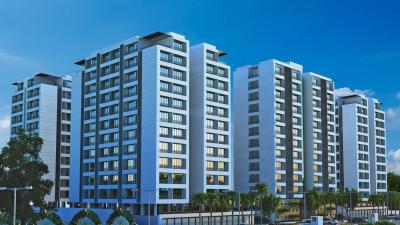 Gallery Cover Image of 1740 Sq.ft 3 BHK Apartment for rent in Aakash Earth, Bhimrad for 17000
