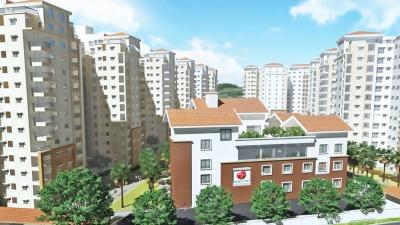 Gallery Cover Image of 1525 Sq.ft 3 BHK Apartment for buy in Alpyne, Subramanyapura for 16500000