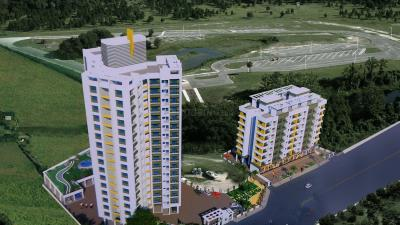 Gallery Cover Image of 630 Sq.ft 1 BHK Apartment for buy in Cosmos Orchid, Kasarvadavali, Thane West for 5400000