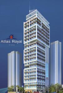 Gallery Cover Image of 538 Sq.ft 1 BHK Apartment for rent in Royal B, Girgaon for 40000