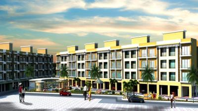 Gallery Cover Image of 706 Sq.ft 1 BHK Apartment for rent in Commanders' Renaissance, Koproli for 6000