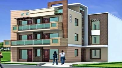 Gallery Cover Image of 1369 Sq.ft 3 BHK Independent Floor for rent in Shree Balaji Hanumanta Apartment, Vibhutipura for 26000