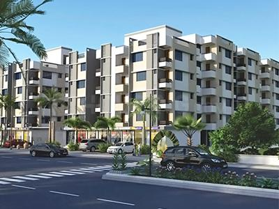 Gallery Cover Image of 756 Sq.ft 1 BHK Apartment for buy in Panchshlok Residency, Chandkheda for 2700000