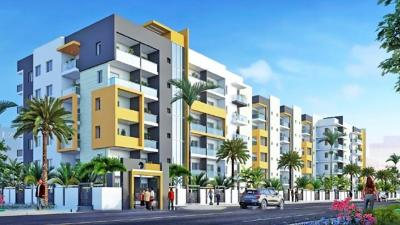 Gallery Cover Image of 1815 Sq.ft 3 BHK Apartment for rent in Rock Gardens, Narsingi for 30000