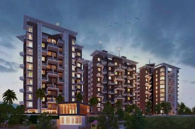 Gallery Cover Image of 680 Sq.ft 1 BHK Apartment for rent in Atrium Skyward Wing A, Undri for 11000