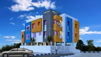 Gallery Cover Image of 650 Sq.ft 1 BHK Apartment for rent in Moni Haritha Garden, Selaiyur for 7500