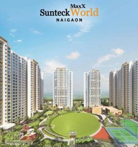 Gallery Cover Image of 1252 Sq.ft 3 BHK Apartment for buy in Sunteck MaxxWorld 1 Tivri Naigaon East, Naigaon East for 5800000