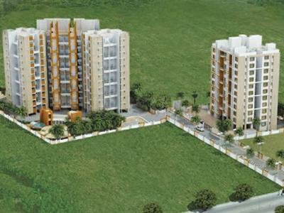 Gallery Cover Image of 1120 Sq.ft 2 BHK Apartment for buy in Atria Dhanashree Aangan, Undri for 4900000