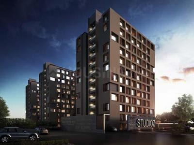 Gallery Cover Image of 635 Sq.ft 1 RK Apartment for buy in Savvy Studioz, Gota for 3000000