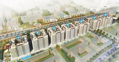 Gallery Cover Image of 583 Sq.ft 1 BHK Apartment for buy in Thakur Galaxy Apartments, Boisar for 2150000