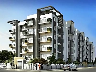 Gallery Cover Image of 1050 Sq.ft 2 BHK Apartment for buy in Deccan Greens, Gnana Bharathi for 7500000