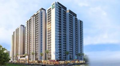 Gallery Cover Image of 795 Sq.ft 2 BHK Apartment for buy in Omkar Lawns And Beyond Phase 3 Omkar International District, Jogeshwari East for 10600000