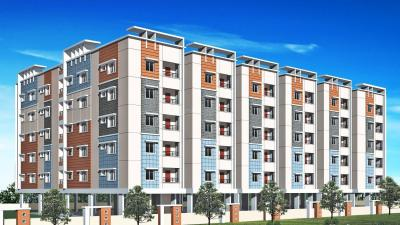 Gallery Cover Image of 1216 Sq.ft 2 BHK Apartment for rent in Harmony Heights, Padmarao Nagar for 23000
