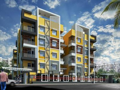 Gallery Cover Image of 750 Sq.ft 2 BHK Apartment for buy in Meena Orchid, Salt Lake City for 3600000