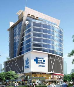 Gallery Cover Image of 1250 Sq.ft 2 BHK Apartment for rent in Lotus Link Square, Malad West for 45000