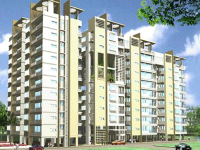 Gallery Cover Image of 1377 Sq.ft 2 BHK Apartment for rent in Indu Projects Indu Fortune Fields apartments, Kukatpally for 25000