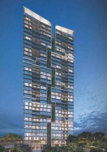 Gallery Cover Image of 785 Sq.ft 2 BHK Apartment for buy in Ashar Metro Towers, Thane West for 10800000