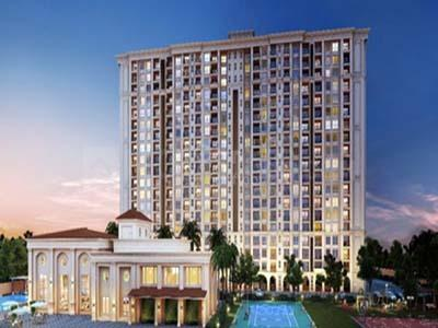 Gallery Cover Image of 655 Sq.ft 1 BHK Apartment for buy in Hiranandani Glen Classic, Devinagar for 4000000