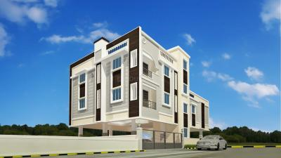 Gallery Cover Image of 950 Sq.ft 2 BHK Apartment for rent in Building Strawberry Paradise, Ayappakkam for 12000