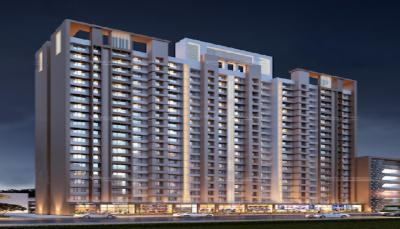 Gallery Cover Image of 646 Sq.ft 1 BHK Apartment for buy in Anant Metropolis Insignia Towers, Kasarvadavali, Thane West for 6500000