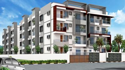 Gallery Cover Image of 1470 Sq.ft 3 BHK Apartment for buy in Shirdi Sai Concord Heights, Narayanapura for 9500000