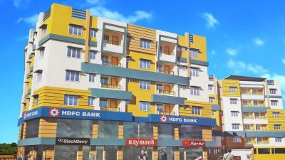 Gallery Cover Image of 857 Sq.ft 2 BHK Apartment for rent in Poddar Radha Krishna Kunj, Rajarhat for 15000