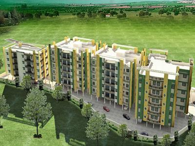 Gallery Cover Image of 1576 Sq.ft 3 BHK Apartment for buy in Green Residency, Bariatu for 7592000