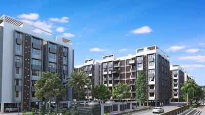 Gallery Cover Image of 1590 Sq.ft 3 BHK Apartment for buy in Radhika Maple Tree, Gandhinagar for 3500000