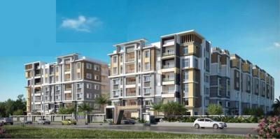 Gallery Cover Image of 872 Sq.ft 2 BHK Apartment for buy in Endeco Lakeview Apartments, Miyapur for 4000000
