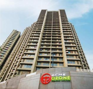 Gallery Cover Image of 1350 Sq.ft 3 BHK Apartment for rent in ACME Ozone Phase 2, Thane West for 30000