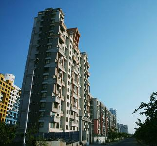 Gallery Cover Image of 800 Sq.ft 2 BHK Apartment for buy in Neelsidhi Jai Balaji CHS, Nerul for 13000000