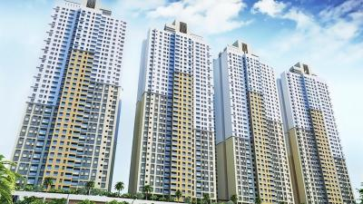 Gallery Cover Image of 1070 Sq.ft 2 BHK Apartment for buy in Rustomjee Urbania Aurelia, Thane West for 13500000