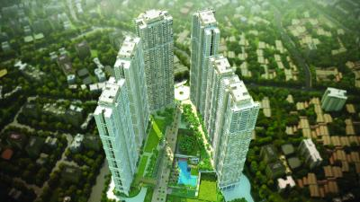 Gallery Cover Image of 1100 Sq.ft 2 BHK Apartment for buy in Runwal Bliss, Kanjurmarg East for 15000000