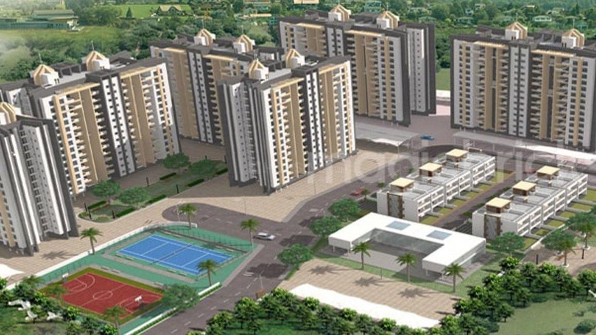 Gallery Cover Pic of Prasad Pyramid County Bhukum Appartment