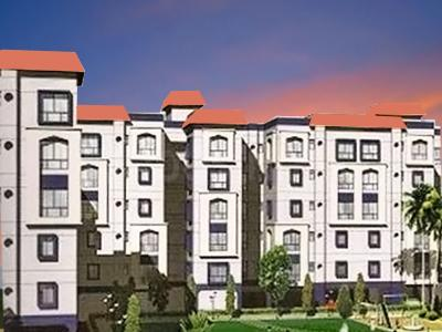 Gallery Cover Image of 930 Sq.ft 2 BHK Apartment for buy in RDB Regent Court II, Baguiati for 4500000