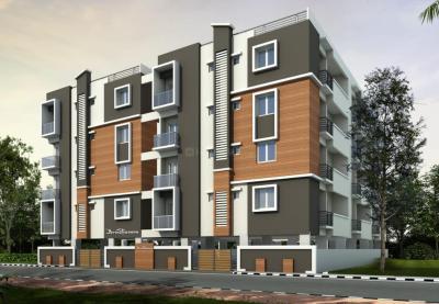 Gallery Cover Image of 500 Sq.ft 1 BHK Independent House for rent in RR Brundavan, Krishnarajapura for 5500