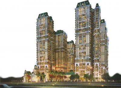 Gallery Cover Image of 1340 Sq.ft 3 BHK Apartment for rent in Apex The Kremlin, Siddharth Vihar for 20000
