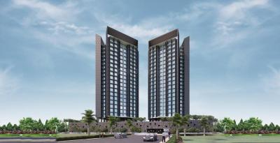 Gallery Cover Image of 1100 Sq.ft 3 BHK Apartment for rent in Kanakia Samarpan Exotica, Borivali East for 39000