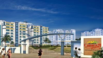 Gallery Cover Image of 955 Sq.ft 2 BHK Apartment for rent in Shourya Shourya Aura Chimera, Raj Nagar Extension for 6500