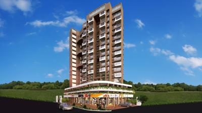 Gallery Cover Image of 1375 Sq.ft 3 BHK Apartment for buy in Tricity Panache, Seawoods for 22500000