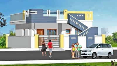Gallery Cover Image of 1200 Sq.ft 2 BHK Independent House for buy in Santhi Sri Nagar Colony, Aminpur for 8500000