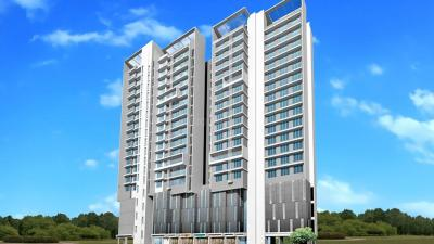 Gallery Cover Image of 1150 Sq.ft 2 BHK Apartment for buy in Nahar Cayenne, Powai for 17300000