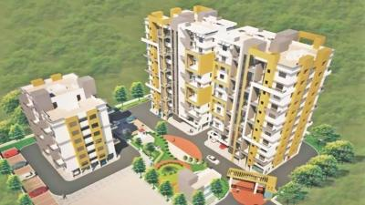 Gallery Cover Image of 1334 Sq.ft 3 BHK Apartment for rent in Moraya Residency, Narhe for 7000