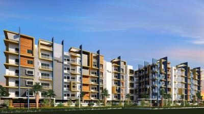 Gallery Cover Image of 1325 Sq.ft 3 BHK Apartment for buy in Fortuna Blue Wings by Fortuna Constructions India Pvt Ltd, Vibhutipura for 7950000