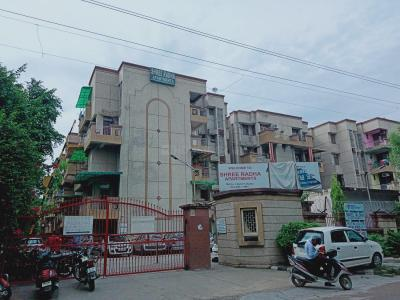 Gallery Cover Image of 1700 Sq.ft 3 BHK Apartment for rent in Shri Radha Apartments, Sector 9 Dwarka for 30000