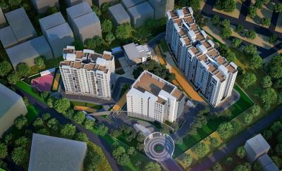 Gallery Cover Image of 1395 Sq.ft 3 BHK Apartment for buy in Ajmera Nucleus, Electronic City Phase II for 7895000