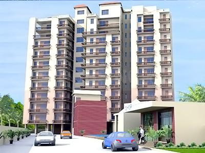 Gallery Cover Image of 1189 Sq.ft 3 BHK Apartment for buy in Tridev Dham, Bhagwanpur for 6691000