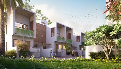 Gallery Cover Image of 1408 Sq.ft 3 BHK Villa for buy in Southern Vista, Rajpur for 7400000