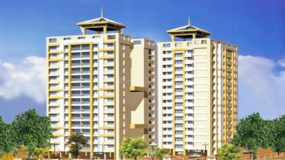 Gallery Cover Image of 750 Sq.ft 2 BHK Apartment for buy in Raunak Unnati Woods Phase 7, Kasarvadavali, Thane West for 9000000