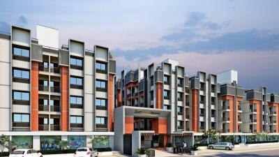 Gallery Cover Image of 1162 Sq.ft 2 BHK Apartment for buy in Sun Real Home, New Ranip for 3600000